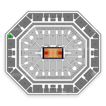 Phoenix Suns at Talking Stick Resort Arena Section 229 View