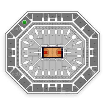 Phoenix Suns at Talking Stick Resort Arena Section 231 View