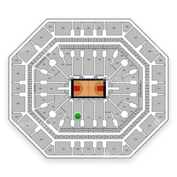 Phoenix Suns at Talking Stick Resort Arena Section 115 View
