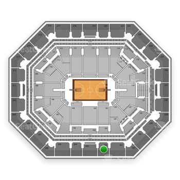 Phoenix Suns at US Airways Center Section 202 View