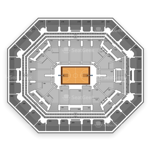 US Airways Center seating chart Phoenix Mercury