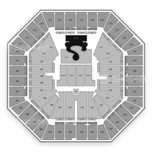 Sleep Train Arena Seating Chart Concert