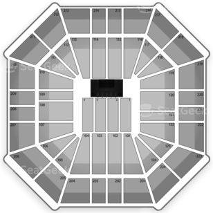 Sleep Train Arena Seating Chart Classical