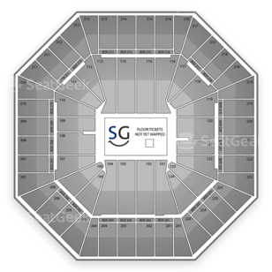 Sleep Train Arena Seating Chart MMA