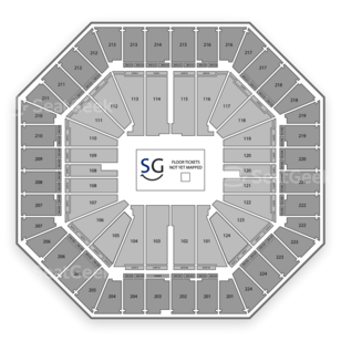 Sleep Train Arena Seating Chart Wrestling