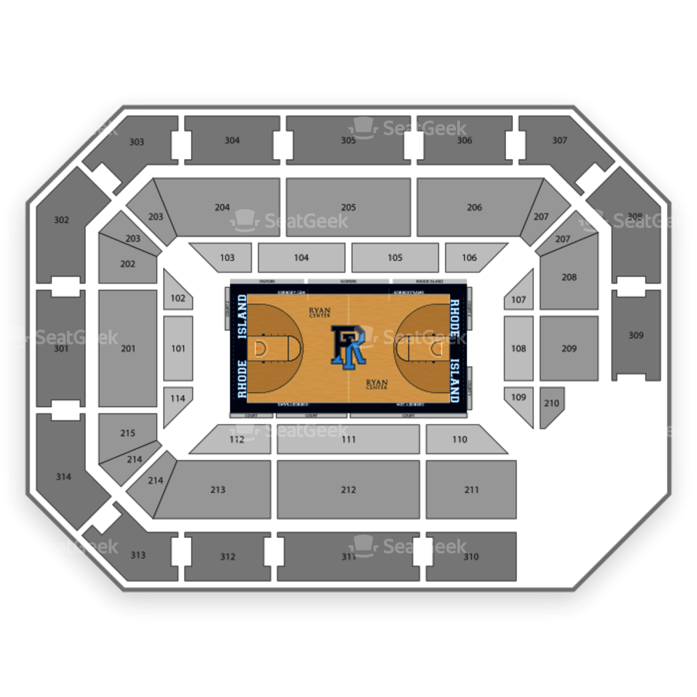 Ryan Center Seating Chart NCAA Womens Basketball