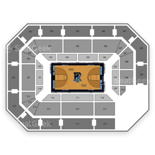 Ryan Center Seating Chart NCAA Basketball