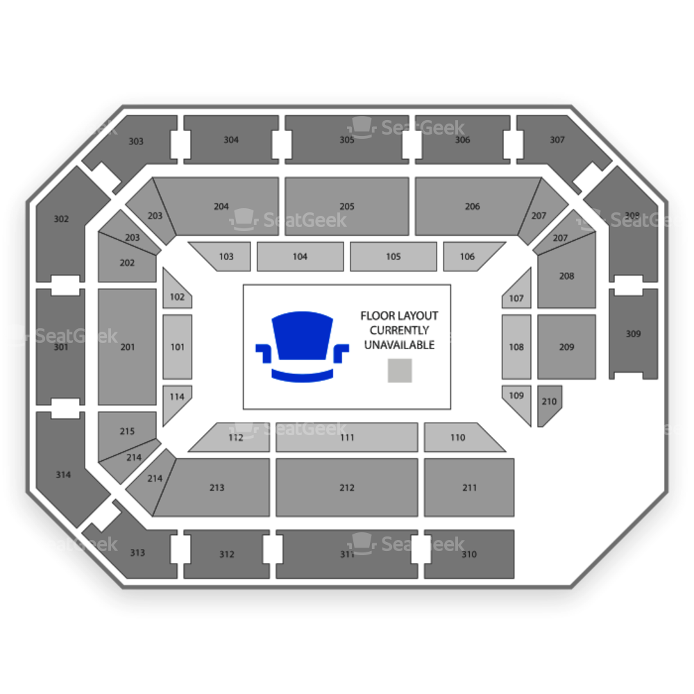 Ryan Center Seating Chart Comedy