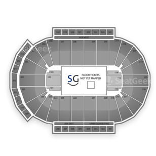 Green Bay Blizzard Seating Chart