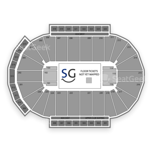 Resch Center Seating Chart Concert