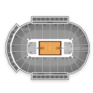 Milwaukee Bucks Seating Chart