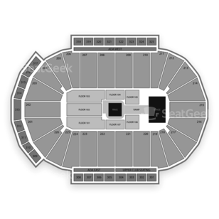 Resch Center Seating Chart Wwe