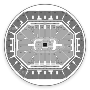 Oracle Arena Seating Chart Boxing