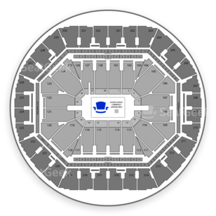 Oracle Arena Seating Chart Rodeo