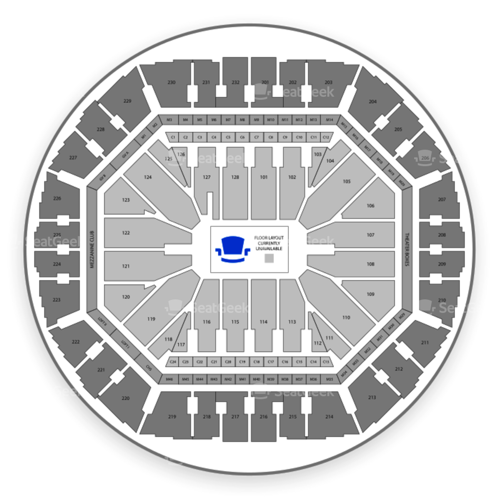 Oracle Arena Seating Chart Family