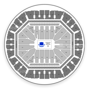 Oracle Arena Seating Chart Music Festival