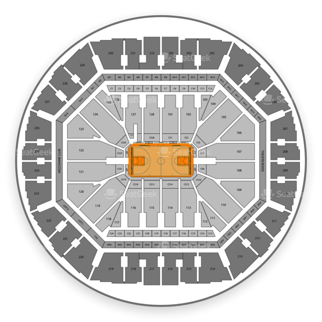 golden one seating chart
