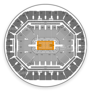 Oracle Arena Seating Chart NCAA Basketball