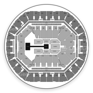 Oracle Arena Seating Chart Wrestling