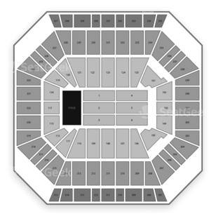 DCU Center Seating Chart Classical