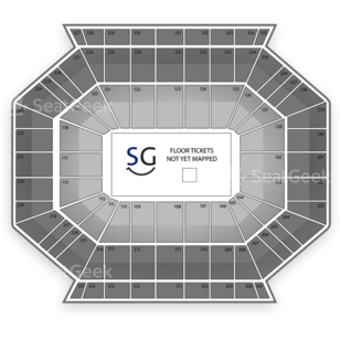 DCU Center Seating Chart Wrestling