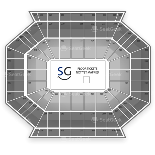 DCU Center Seating Chart
