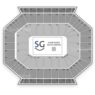 DCU Center Seating Chart Family