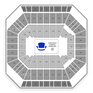 DCU Center Seating Chart Wwe