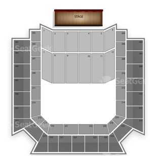 Bill Graham Civic Auditorium Seating Chart Concert