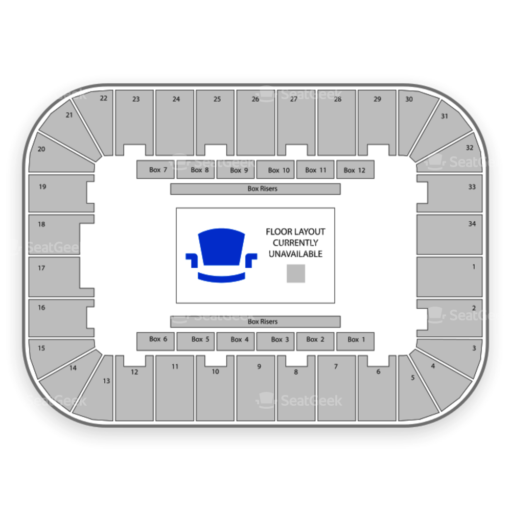 Berglund Center Seating Chart Parking
