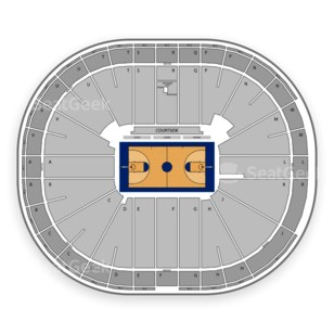 San Diego State Aztecs Womens Basketball Seating Chart