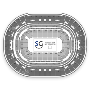 Los Angeles Kiss Seating Chart