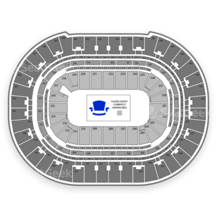 Honda Center Seating Chart Wwe