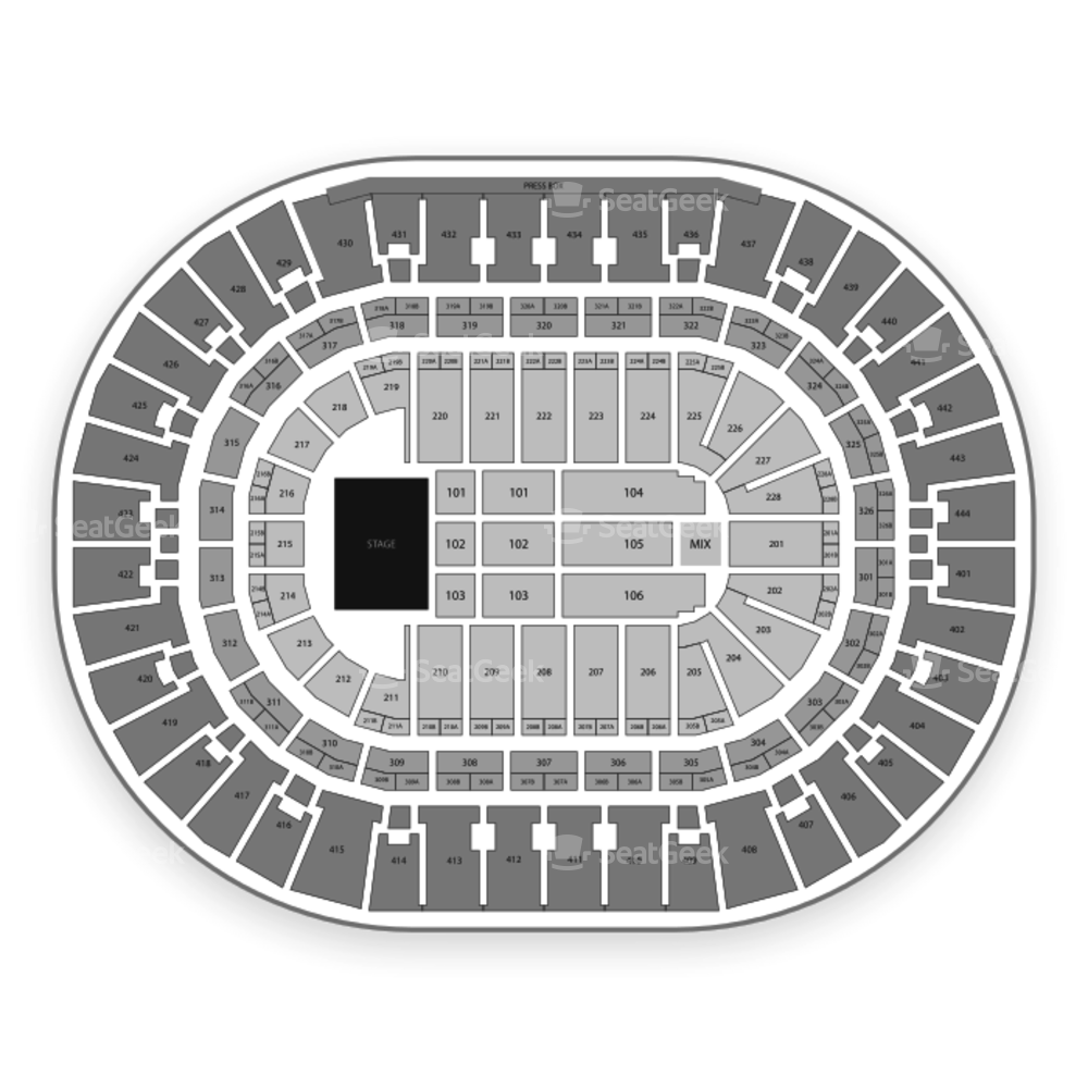 Honda Center Seating Chart Concert