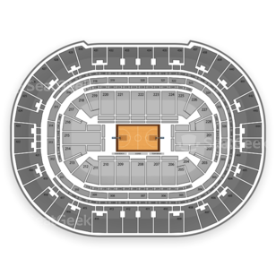 Honda Center Seating Chart NCAA Basketball