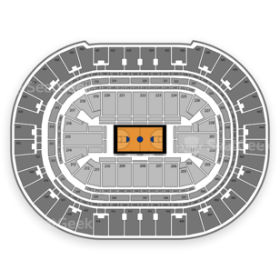 Honda Center Seating Chart NCAA Womens Basketball