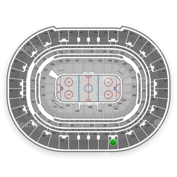 Anaheim Ducks at Honda Center Section 409 View