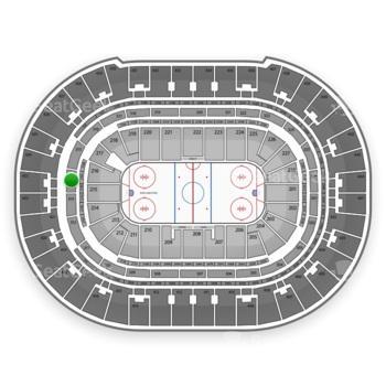 Anaheim Ducks at Honda Center Section 314 View