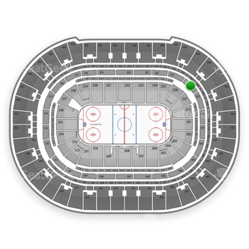 Anaheim Ducks at Honda Center Section 324 View