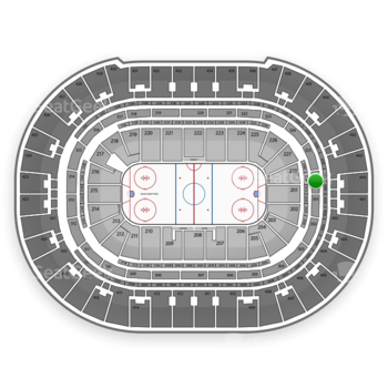 Anaheim Ducks at Honda Center Section 326 View