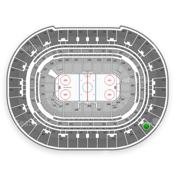 Anaheim Ducks at Honda Center Section 405 View
