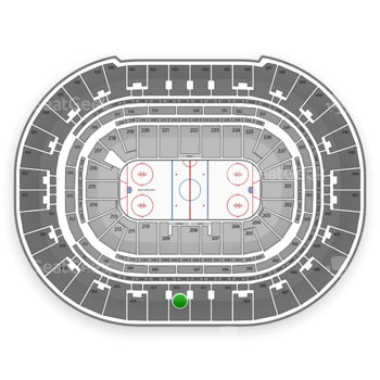Anaheim Ducks at Honda Center Section 412 View