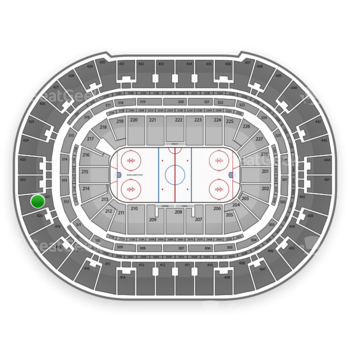 Anaheim Ducks at Honda Center Section 421 View