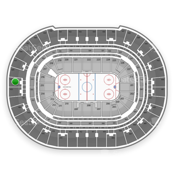 Anaheim Ducks at Honda Center Section 423 View