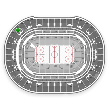 Anaheim Ducks at Honda Center Section 427 View