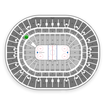Anaheim Ducks at Honda Center Section 316 View