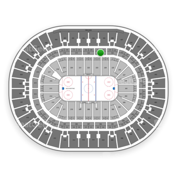 Anaheim Ducks at Honda Center Section 321 View