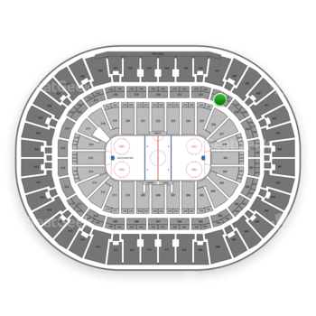Anaheim Ducks at Honda Center Section 323 View