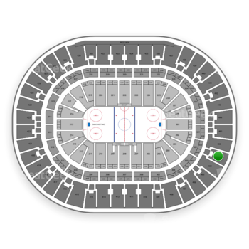 Anaheim Ducks at Honda Center Section 403 View