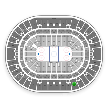 Anaheim Ducks at Honda Center Section 408 View